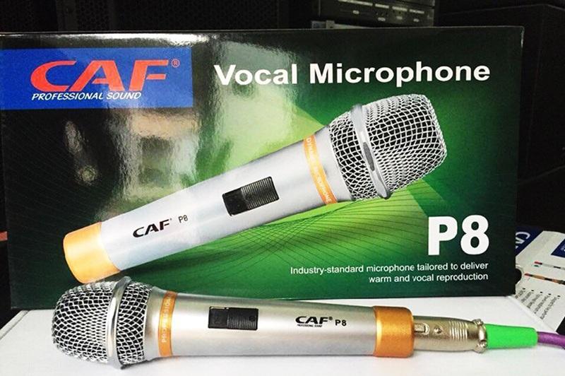 Bộ sản phẩm micro có dây CAF P8