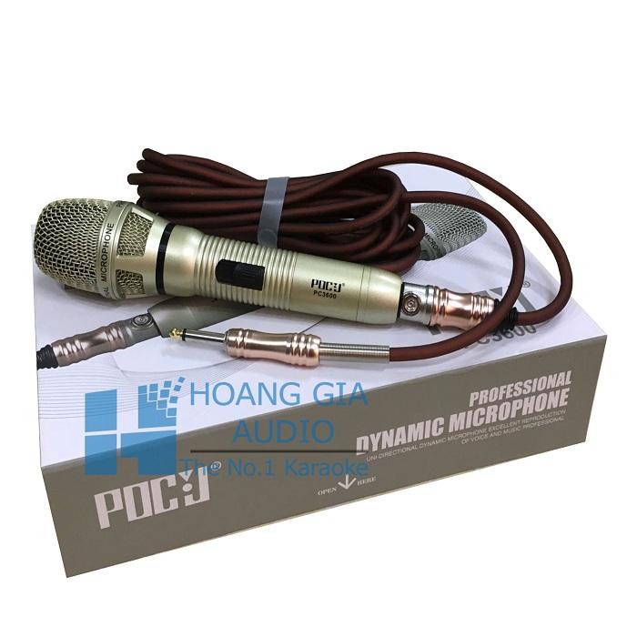 mic có dây PDCJ PC 3600