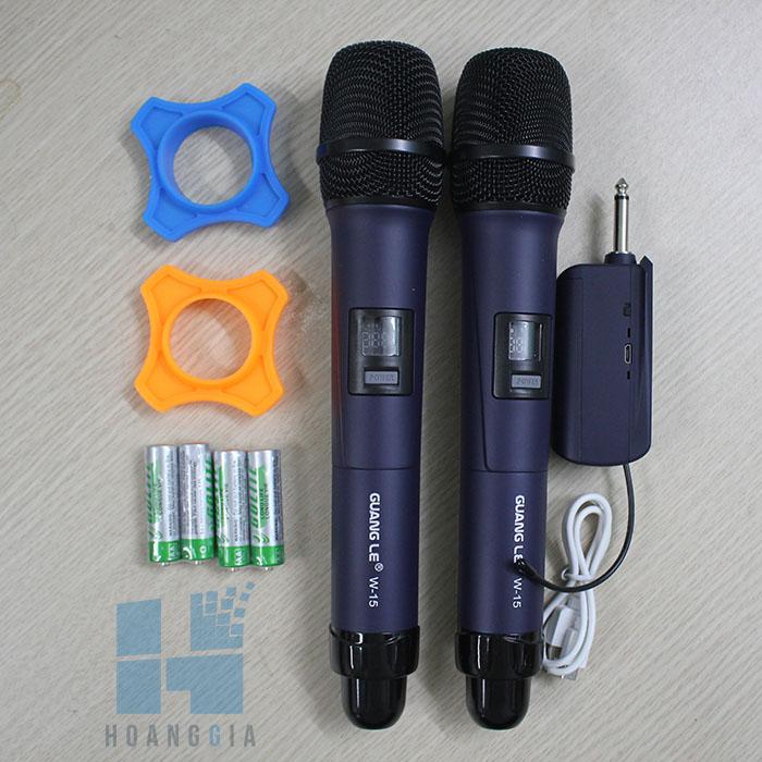 Micro không dây đa năng GuangLe W-15