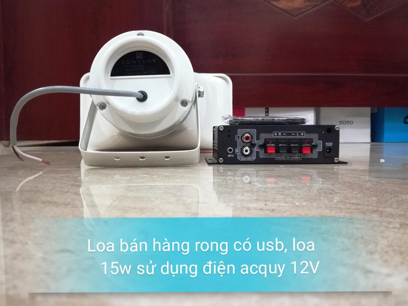 loa ban hang rong