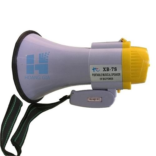 Loa cầm tay Megaphone XB-7S ( sử dụng 4pin Đại)