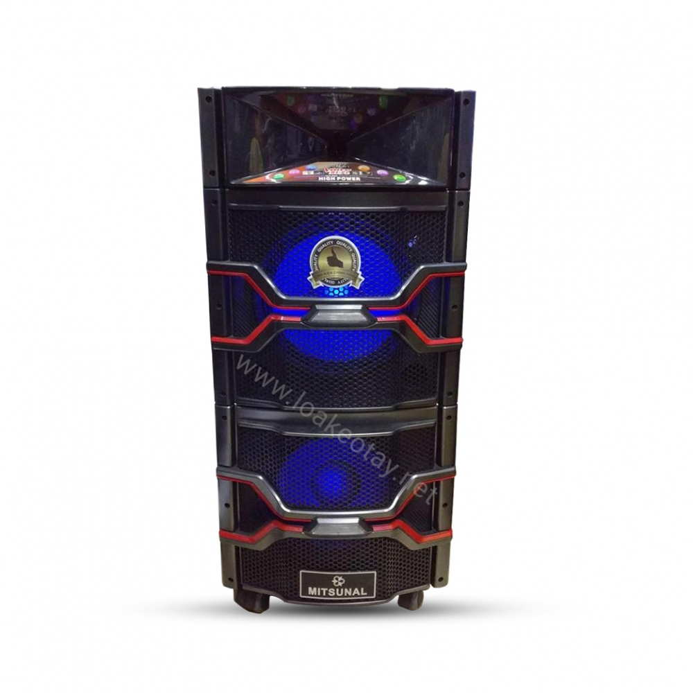 Loa kéo tay Mitsunal M83 DVD ( có màn hình )