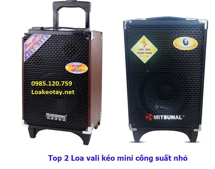 Loa vali kéo mini công suất nhỏ