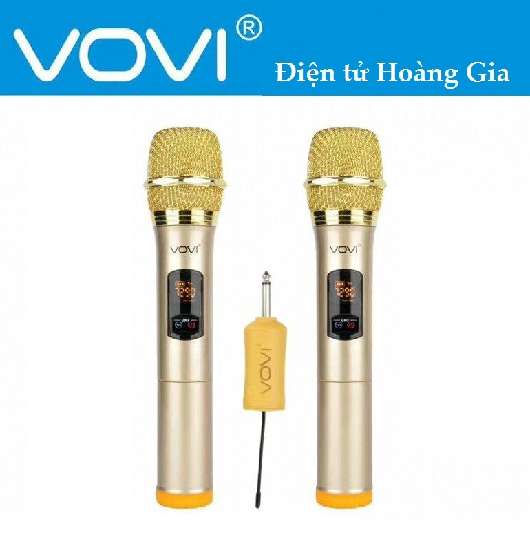 Mic không dây VOVI V12