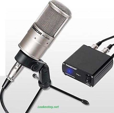 Mic thu âm chuyên dụng Takstar PC-K200