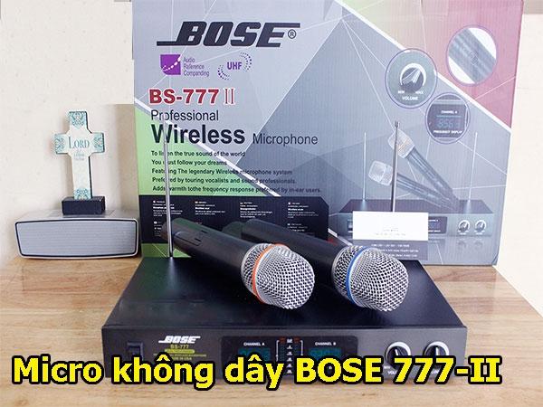 Micro không dây Bose 777 II