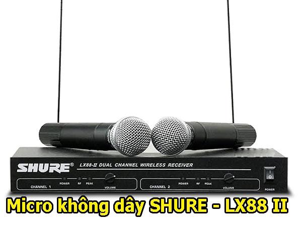 Micro không dây Shure LX-88 II
