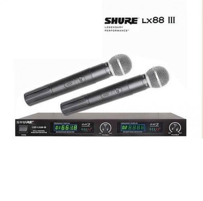 Micro không dây Shure LX-88 III