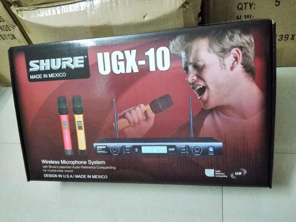 Micro không dây Shure UGX-10