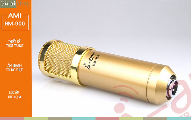 Binai Shop: Microphone karaoke online Ami BM-900