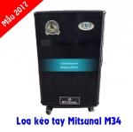 Review loa kéo tay Mitsunal M34 mẫu mới 2017