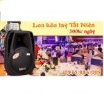 Cho thuê loa kéo tất niên tại Hà Nội - Chỉ 300k trên ngày