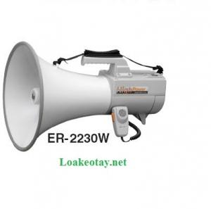 Loa phóng thanh đeo vai ER-2230W 30w ( có còi hụ )