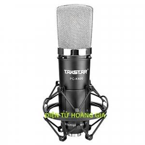 Mic thu âm Takstar PC K600
