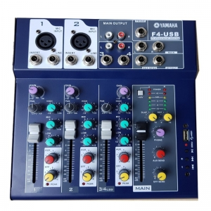 Mixer thu âm, hát live stream Yamaha F4 Bluetooth